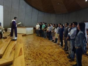 Jovenes universitarios misioneros